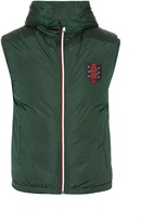 Gucci Hooded quilted-down gilet