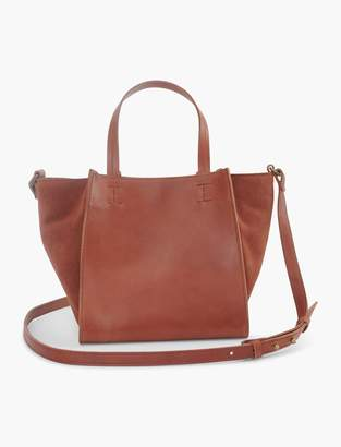 Lucky Brand Mini Satchel Leather Crossbody