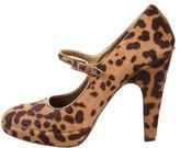Prada Cheetah Print Mary Jane Pumps