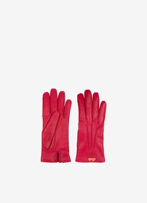 Bally Infinity Buckle Gloves
