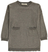 Nice Things Lurex Wool Dress