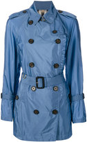 Burberry trench coat - women - Polyamide/Polyester - 10