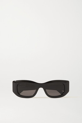 Balenciaga Square-frame Acetate Sunglasses - Black