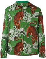 Gucci Bengal print hooded jacket - men - Polyamide/Polyester - 44