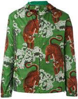 Gucci Bengal print hooded jacket