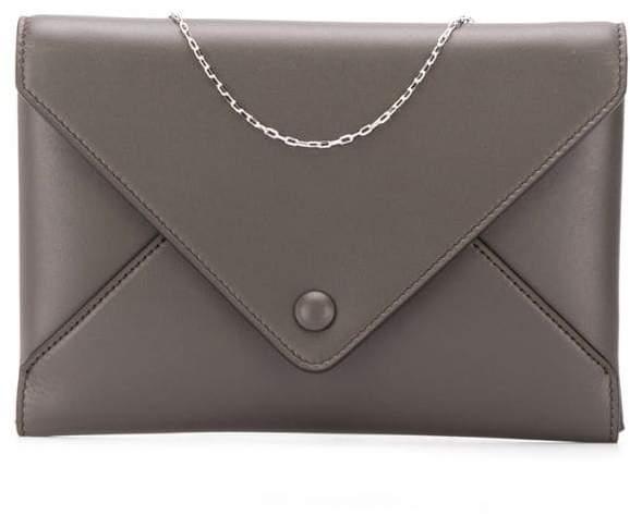 119134983c Dark Grey Clutch Bag - ShopStyle UK