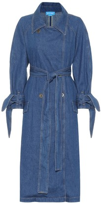 MiH Jeans Audie denim trench coat