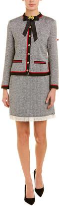 BURRYCO 2Pc Skirt & Blouse Set