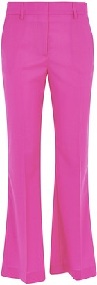 MSGM Flared Leg Fitted Trousers