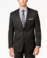 Alfani Men's Traveler Black Solid Classic-Fit Jacket, Only at Macy's