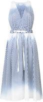 Milly Finley dress - women - Cotton/Spandex/Elastane - 0