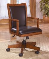 Signature Design by Ashley Medium Brown Cross Island Home Office Swivel Desk Chair