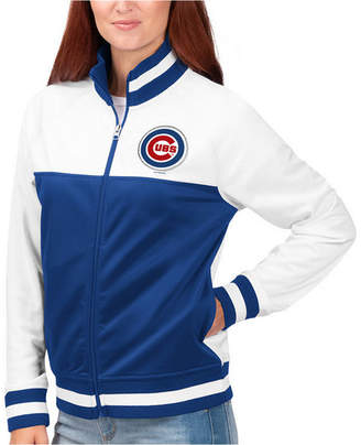 G-iii Sports Women Chicago Cubs Face Off Track Jacket