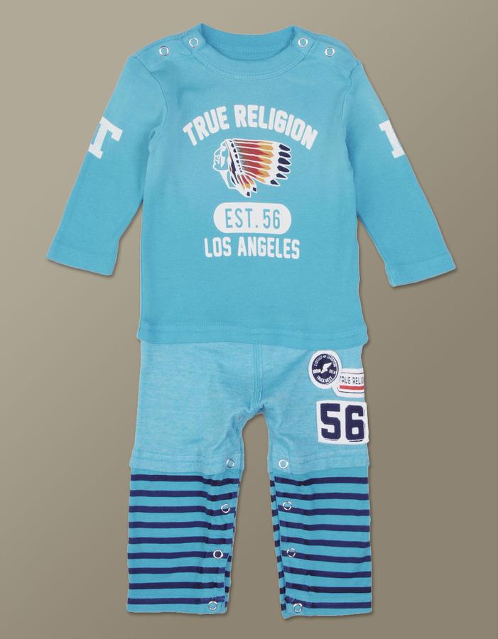 True Religion Baby Rainbow Native One Piece