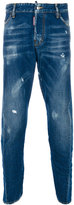 DSQUARED2 slim distressed jeans - men - Cotton - 50
