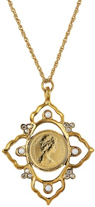 American Coin Treasures QEII Coin Victorian Pendant