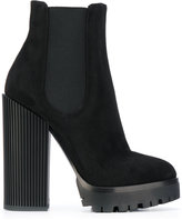 Dolce & Gabbana chunky heeled ankle boots - women - Goat Skin/Leather/rubber - 39