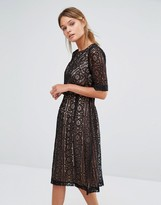Oasis Lace 2 In 1 Midi