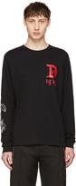 Diesel Black T-Joe-LS-QA T-Shirt