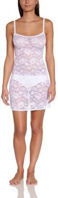 Cosabella Women's Nightgown Never Say Never Foxie Chemise Lace,Small