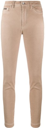 Dolce & Gabbana High-Rise Skinny Trousers