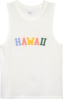 Madewell Hawaii Graphic Northside Vintage Muscle Tank