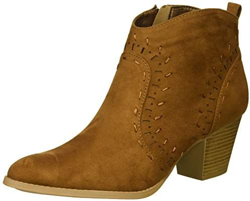Qupid Women's Western Bootie Boot