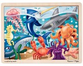 Melissa & Doug Kids Toy, Under the Sea 24-Piece Jigsaw Puzzle