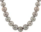 Splendid Pearls 14K 11-12Mm Freshwater Pearl Strand Necklace