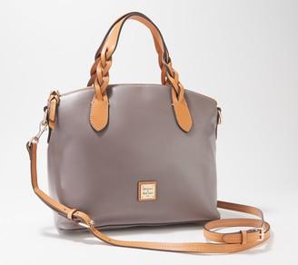 Dooney & Bourke Smooth Leather Celeste Satchel