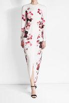 Elie Saab Printed Silk Blend Gown