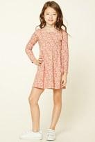 Forever 21 Girls Daisy Print Dress (Kids)