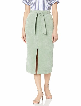 The Fifth Label Women's Philosophy Slim Corduroy Pencil Skirt