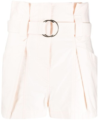 IRO Nitry belted shorts