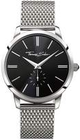Thomas Sabo Eternal Rebel Stainless Steel Mesh Bracelet Mens Watch