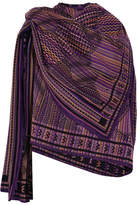 Missoni Wool Poncho - Purple