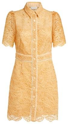 Sandro Paris Lace Mini Dress