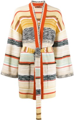 Missoni Color Block Stripes Cardigan