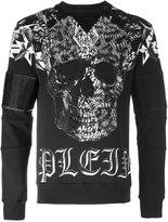 Philipp Plein Lava sweatshirt - men - Cotton/Polyurethane/Viscose - M