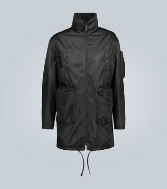 Prada Technical coat with large pockets