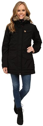 Fjallraven Nuuk Parka (Black 1) Women's Coat