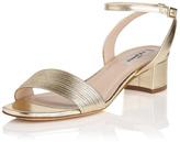 LK Bennett Charline Sandal Gold