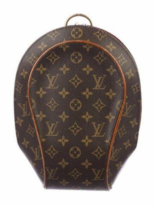 Louis Vuitton Vintage Monogram Ellipse Backpack Brown