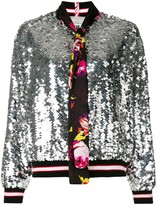 MSGM sequin bomber jacket