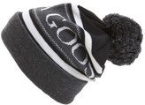 Canada Goose Logo Knit Beanie