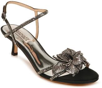 Badgley Mischka Gianna Crystal Embellished Strappy Sandal
