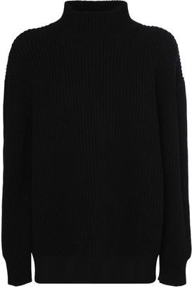Marni Oversize Wool Knit Turtleneck Sweater