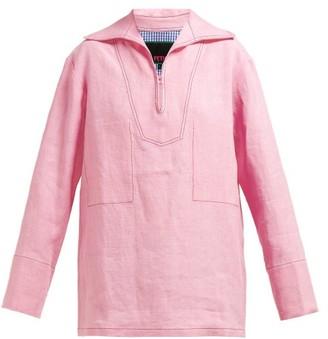 La Fetiche - Andre Linen Shirt - Pink