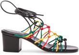 Chloé Leather Net Heels