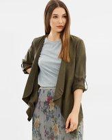 Only Bella Lux Tencel Drapey Jacket